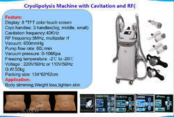 Cryolipolysis Slimming Machines with Multipolar RF
