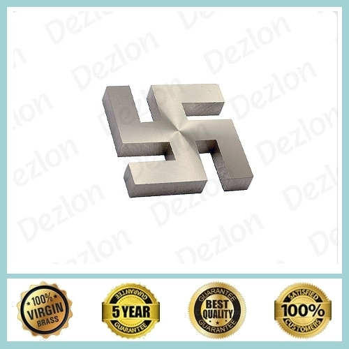 Brass Swastik Cap