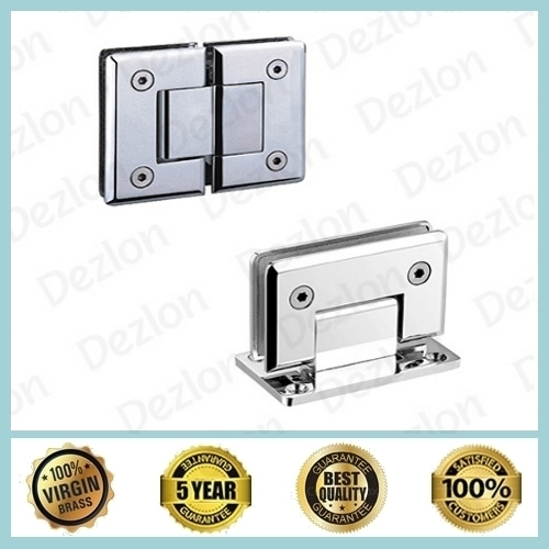 Brass Shower Hinges