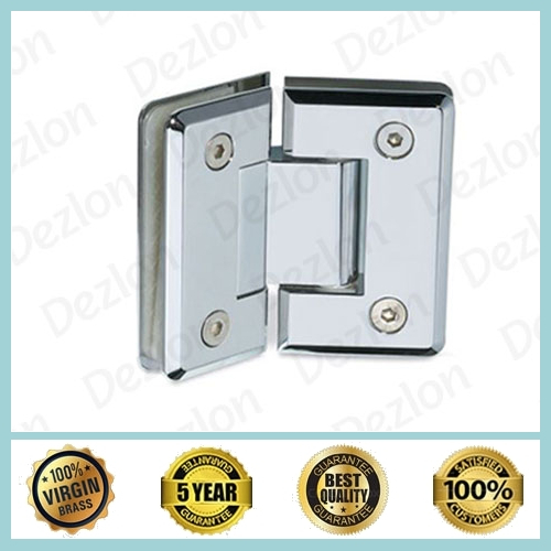 Brass Shower Hinges Glass To Glass135 Degree