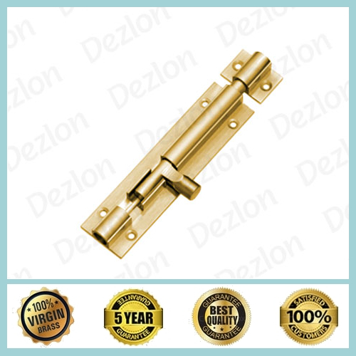 Brass Barrel Tower Bolt