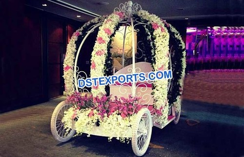Best Wedding Bride and Groom Entrance Buggy