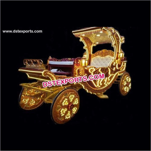 Wedding Carved Horse Drawn Carriage
