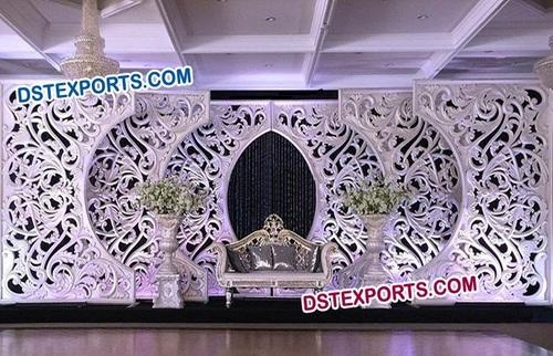 Wedding Stage C Style Fiber Backdrop Frames