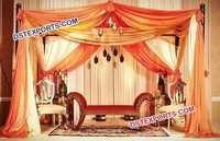 Antique Mehandi Stage Furniture