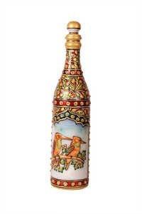 Antique Marble Bottle 10