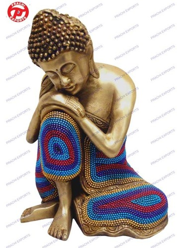 Resting Buddha In Chain Work