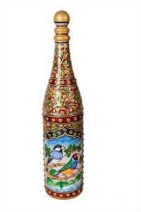 Antique Marble Bottle 12