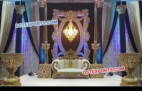 Maharaja Wedding Fabulous Stage