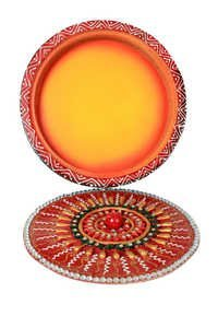 Round Marvellous Papper Masi Dry Fruit Box
