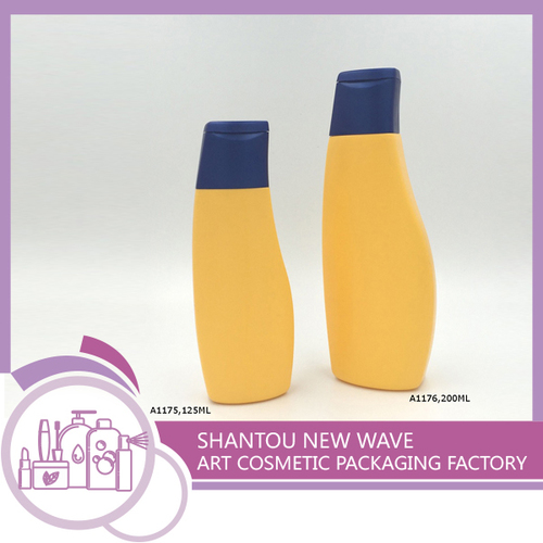 Plastic Packaging of Empty Shampoo Bottles / Containers