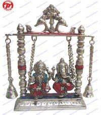 Lakshmi, Ganesh & Sarswati Statues