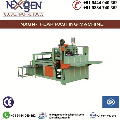 Semi Automatic Flap Pasting Machine