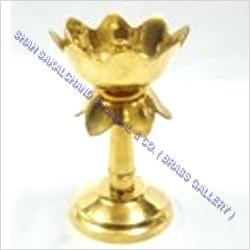 Brass Kamal Stand Diya