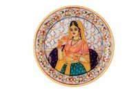 Unique Marble Lady Jali Plate