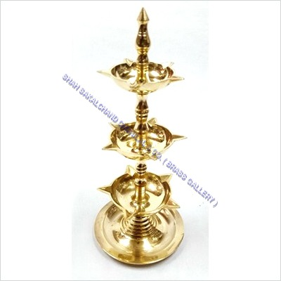 Brass 3- Step Diya