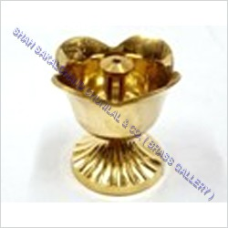 Brass Rose Salai Diya