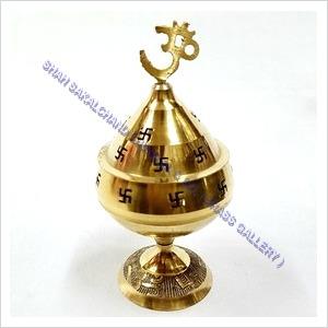 Brass Jali Diya