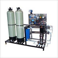 RO Water Softener Treatment Plant