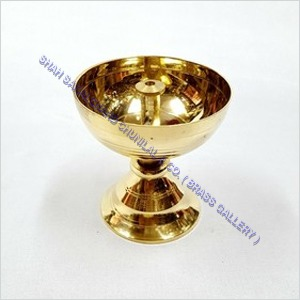 Brass Stand Pyali Diya