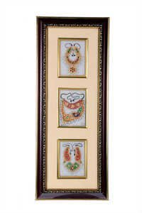 Three Piece Jewellery Marble Photo Frame