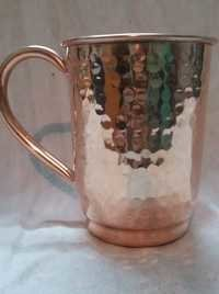 Hammered Big Copper Mug