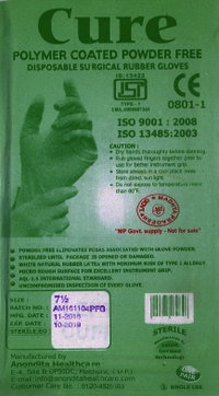 Disposible Surgical Rubber GLOVES
