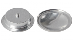 Aluminum crucible with lid set compare to Mettler w/pin set ME-00027331.