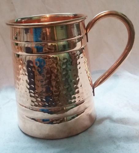 Large Copper Mugs