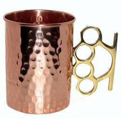 Hand Held Copper Mug