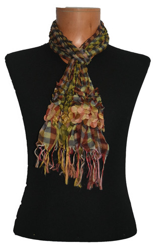 Polyester Bubble Scarf