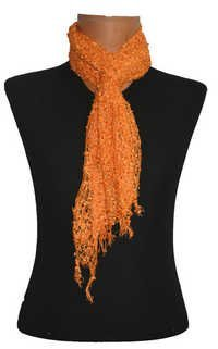 Viscose Net Scarf