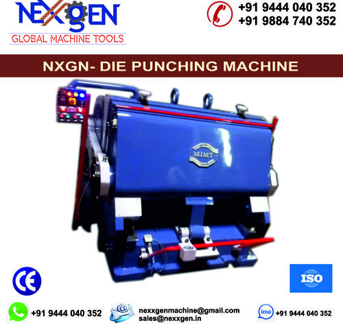DIE PUNCHING MACHINE