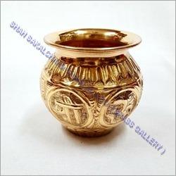 Copper Nakshi Lota