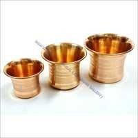 Copper Damroo Panchpatra