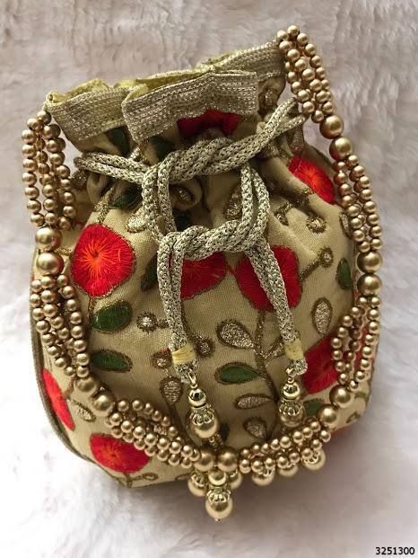 Beautiful Ethnic Indian Potli Bag