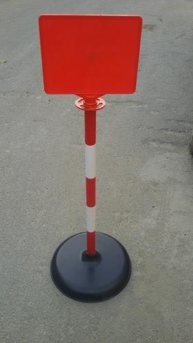 Plastic Sign Post Warning Post