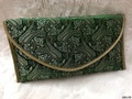 Fancy Brocade Ladies Clutch Bag