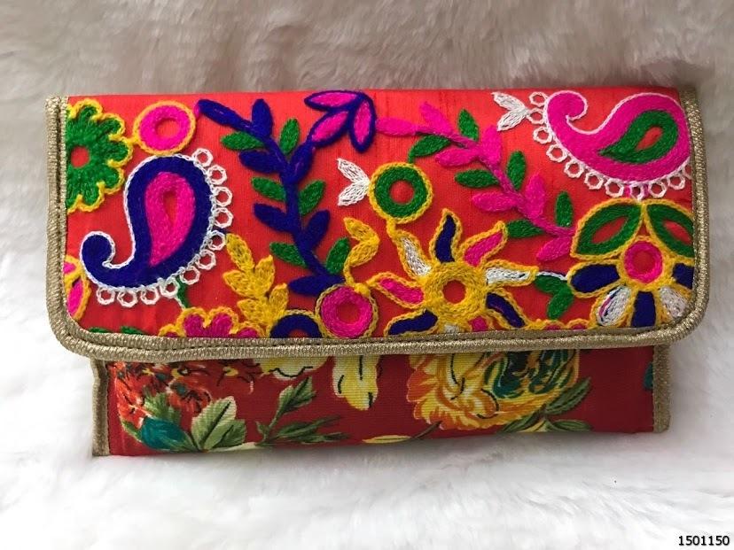 Latest Colorful Ladies Clutch Bag