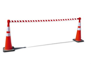 Retractable Traffic Cone Topper
