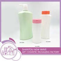 Plastic Packaging of Personal Care Empty Shampoo Bottles / Containers-A723,A721,A722