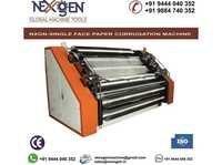 SINGLE FACER PAPER CORRUGATION MACHINES