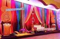 Ladies Sangeet Stage Decorations