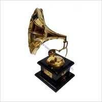 Brass Gramaphone