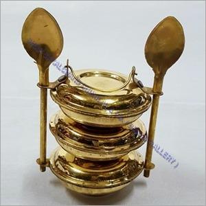 Brass Spoon Tiffin