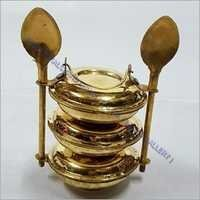 Brass Spoon Tiffin