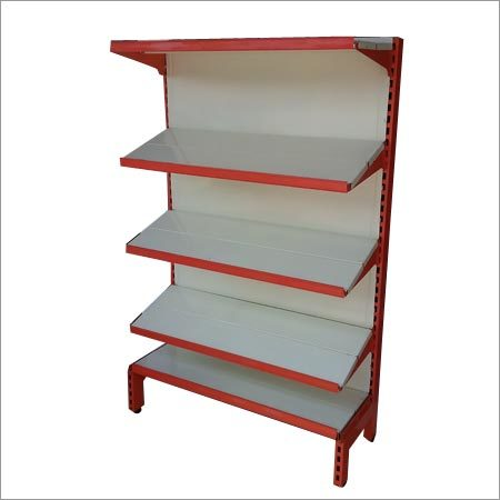 Slotted Angle Panel Steel Rack