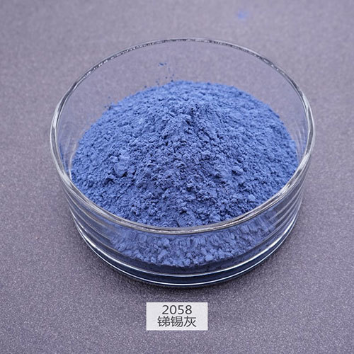 Sn-Sb Grey Ceramic Pigments