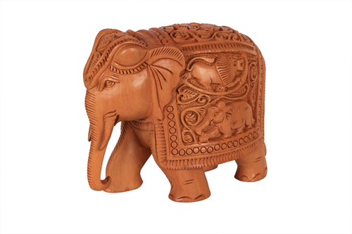 Unique Elephant Khudai Relot Wood