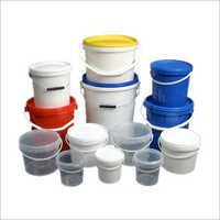 Plastic Ink Container